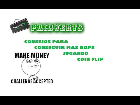 Paidverts - Coin flip- Consejos para ganar Baps