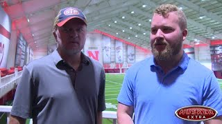 Husker Extra Two-minute Drill: Offensive line and wide receivers