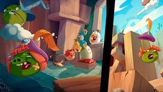 Прохождение Angry Birds Epic - СПАСЕНИЕ 2-ОГО ЯЙЦА И 7 УРОВЕНЬ ПТИЧЕК