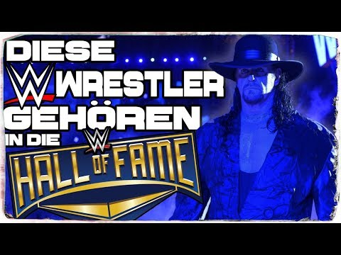 Diese Wrestler gehören in die WWE Hall of Fame! (DEUTSCH/GERMAN)