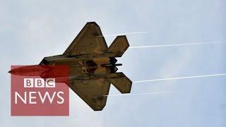 Syria: US begins air strikes on Islamic State - BBC News