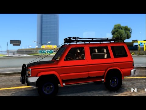 Gta San Andreas Toyota Kijang Grand Extra Off Road