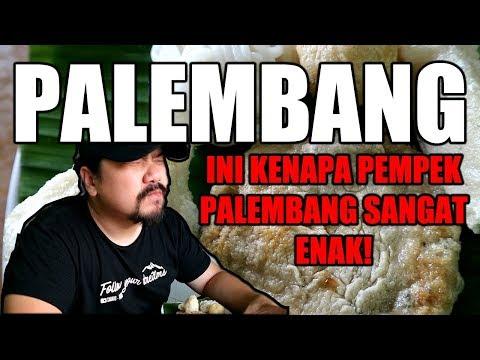 PEMPEK TERENAK DI INDONESIA CUMA ADA DI PALEMBANG!