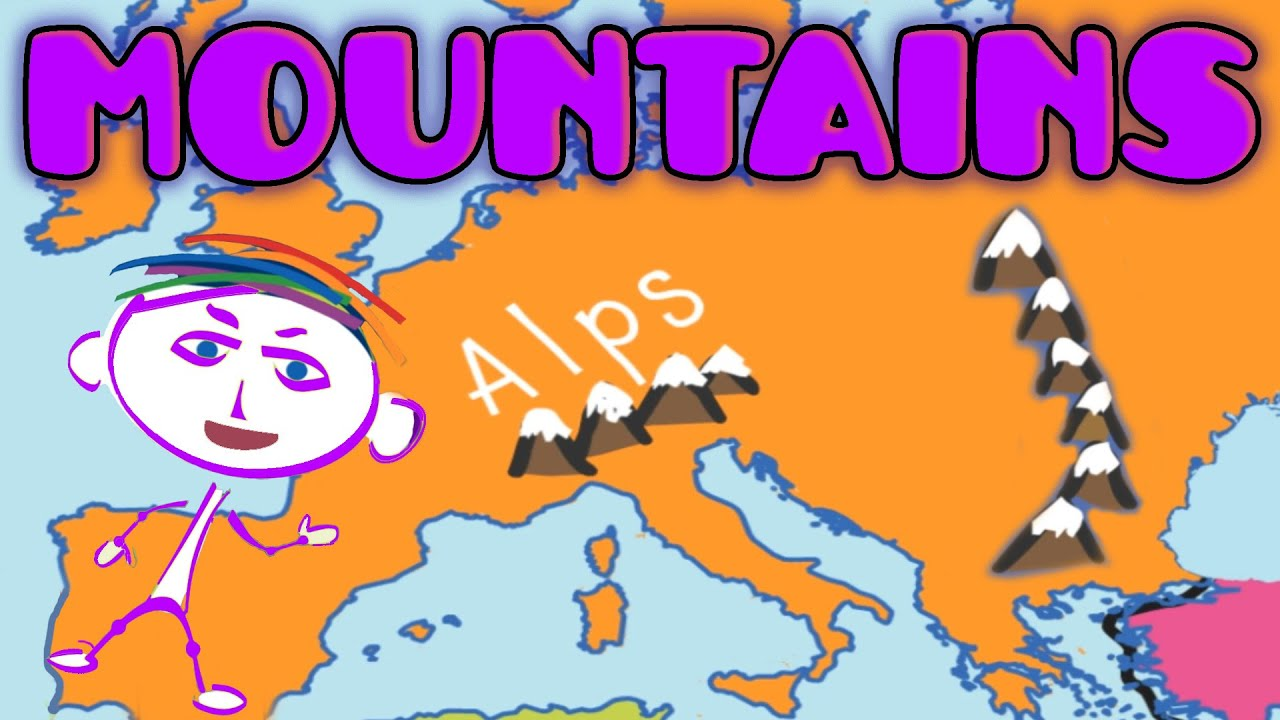 Geography Explorer Mountains Educational Videos Lessons For Children Funny Game For Kids Youtube