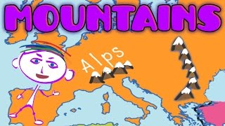Geography Explorer: Mountains - Educational Videos & Lessons for Children, Funny Game for Kids