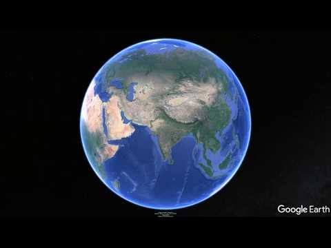 Durgapur to Puskar Google earth View in 4K  UHD
