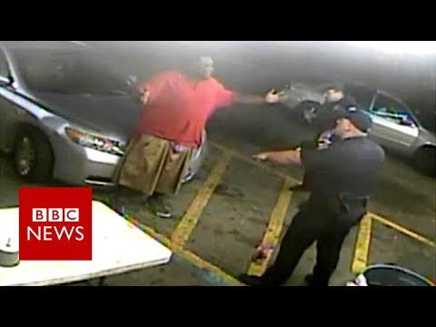 Alton Sterling: New footage emerges of the lead up to 2016 police shooting - BBC News