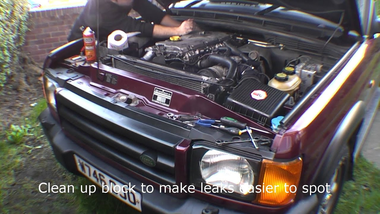 Landrover Discovery 2 TD5 Auto injector loom replacement