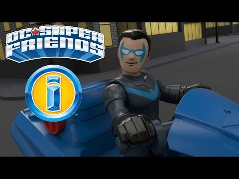 Nightwing & Black Canary Patrol The Skies Of Gotham City |DC Super Friends | Imaginext