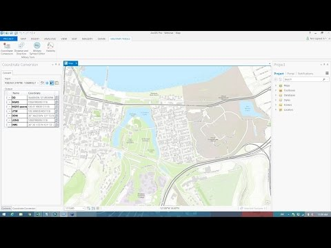 Military Tools for ArcGIS: Coordinate Conversion