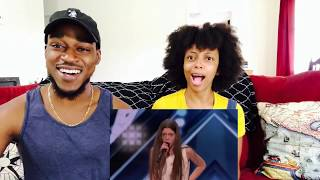 America's Got Talent- Courtney Hadwin Buzzer Winning Audition!! (Th&Ce' Reaction)