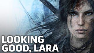Xbox One X: Rise Of The Tomb Raider Gameplay Looks Amazing