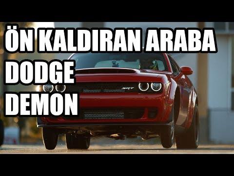 2.3 Saniyede Ön Kaldırarak 0-100 Yapmak | Dodge SRT Demon