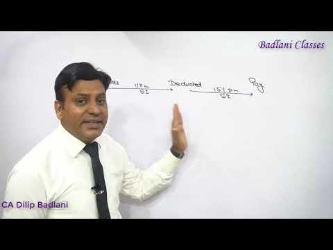 Income Tax : AY 18-19 : TDS : Lecture 9