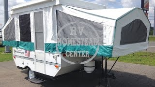2004 ROCKWOOD 1640LTD FOLD DOWN TRAVEL TRAILER OHIO CAMPER RV DEALER www.homesteadrv.net
