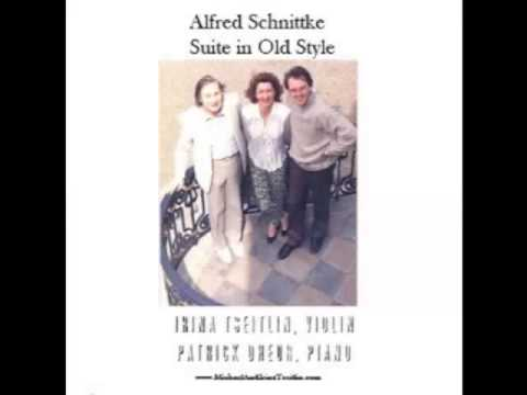 Alfred Schnittke: Suite in Old Style