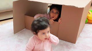 YAPRAK bebek ablasıyla saklambaç oynadı- Hide And Seek-Saklanbaç Oynuyoruz-Eğlence Tv