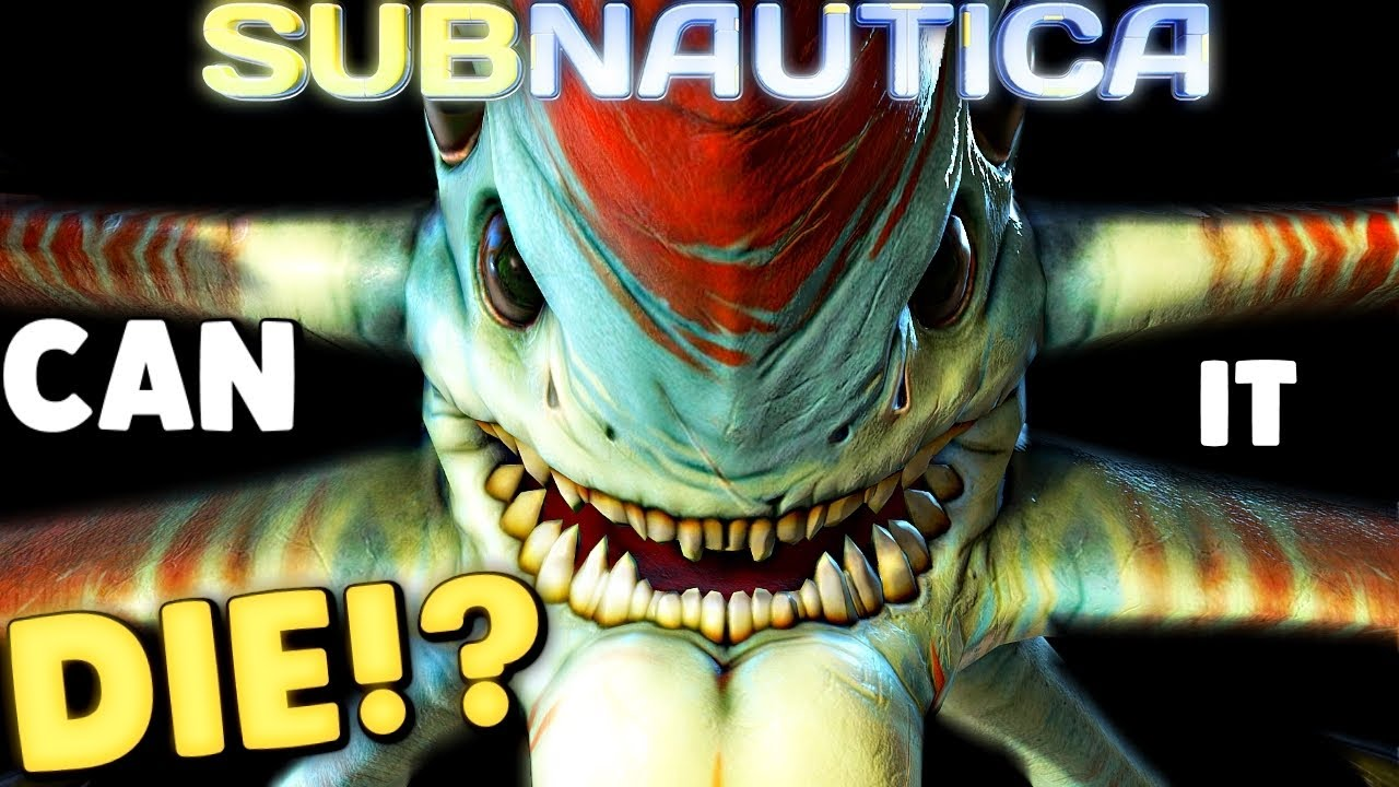 Subnautica - KILLING THE GHOST LEVIATHAN & REAPER LEVIATHAN, EMPEROR STORY  & CYCLOPS! ( Gameplay )