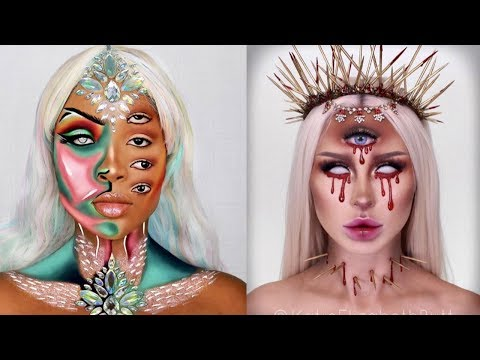 Top easy and Scary Halloween Makeup Tutorials Complication 2019 thumbnail