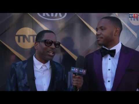 Eric Gordon   NBA Awards Show Red Carpet Interview