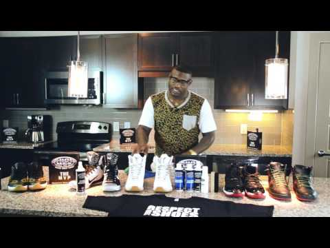 HOW TO CLEAN SHOES WITH MVP KIT BY SHOE MGK