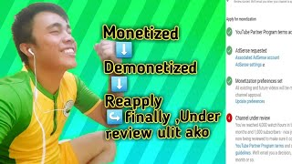 Under review youtube channel monetization(2019)