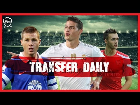JAMES RODRIGUEZ TO CHELSEA?   FEAT TOFFEE TV   DEADLINE DAY COUNTDOWN