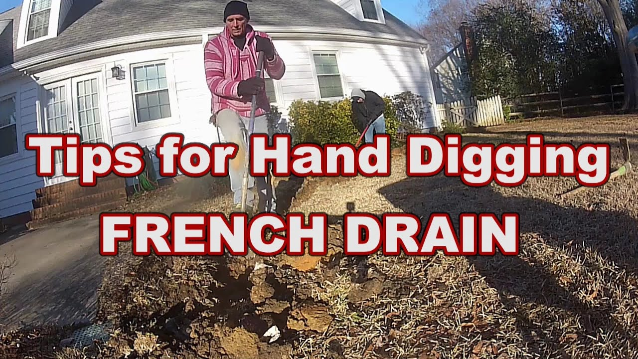 Image Result For Build A French Drain