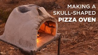 Making a Skull-Shaped Pizza Oven