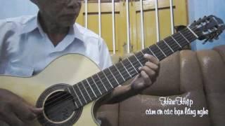 Chiều Một Mình Qua Phố - Guitar Hữu Hiệp