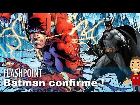 Batman confirmé dans le film Flashpoint