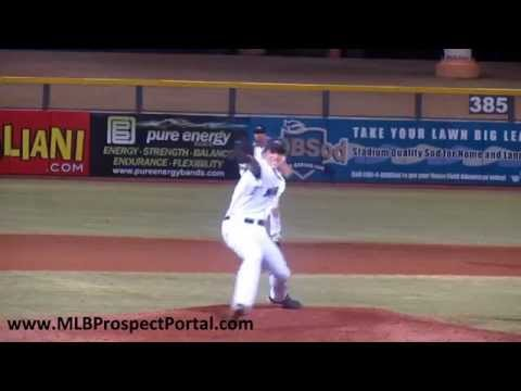 Mariners LHP Brian Moran - Arizona Fall League 2011 - Peoria Javelinas