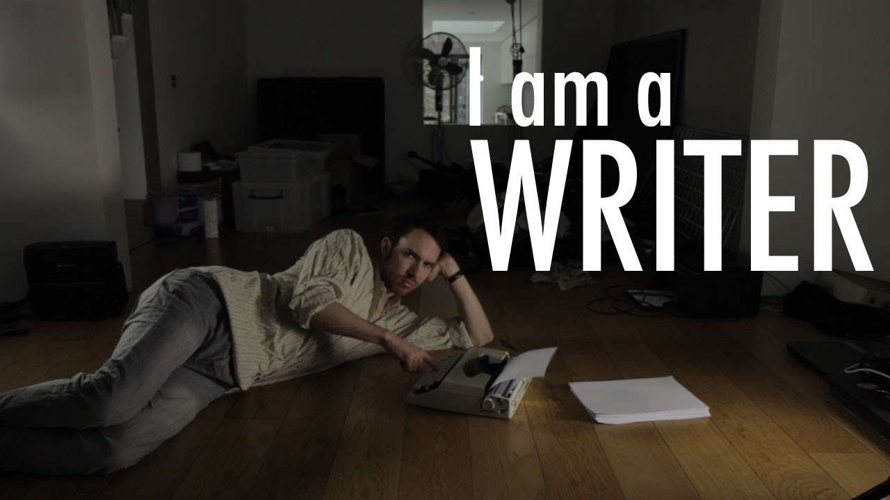 i am a writer youtube