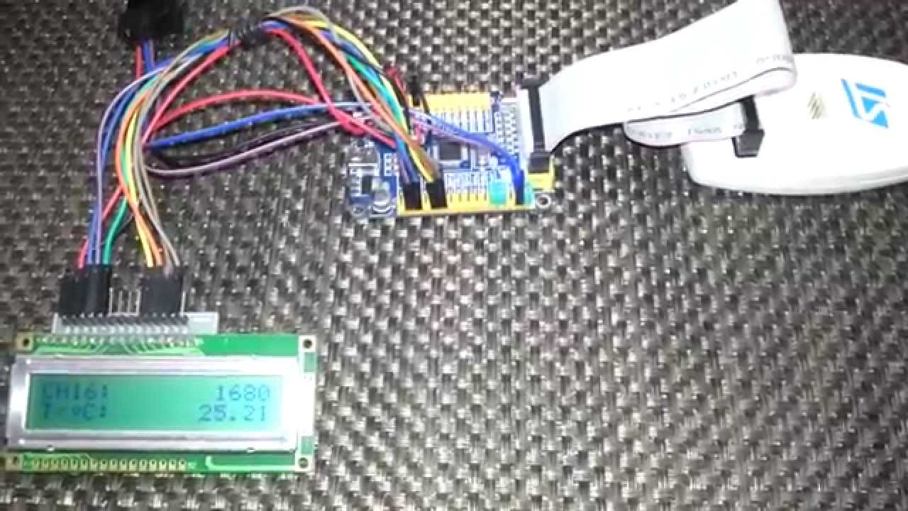 STM32 ADC Single Channel (Internal Temperature Sensor) Continuous  Conversion Mode with Interrupt