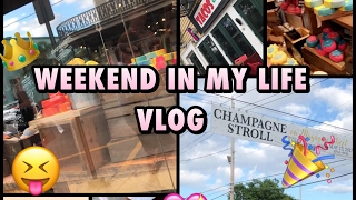 Weekend in my life + TRYING LUSH PRODUCTS!