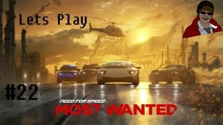 Lets Play Need For Speed Most Wanted - Ep.22 - Awesome Driving Bumblebee From Transformers
