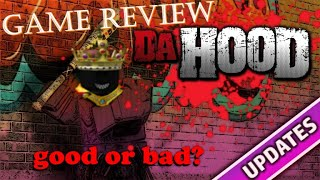 ROBLOX Da Hood Review