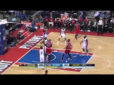 Chicago Bulls vs Detroit Pistons | March 5, 2014 | NBA 2013-14 Season