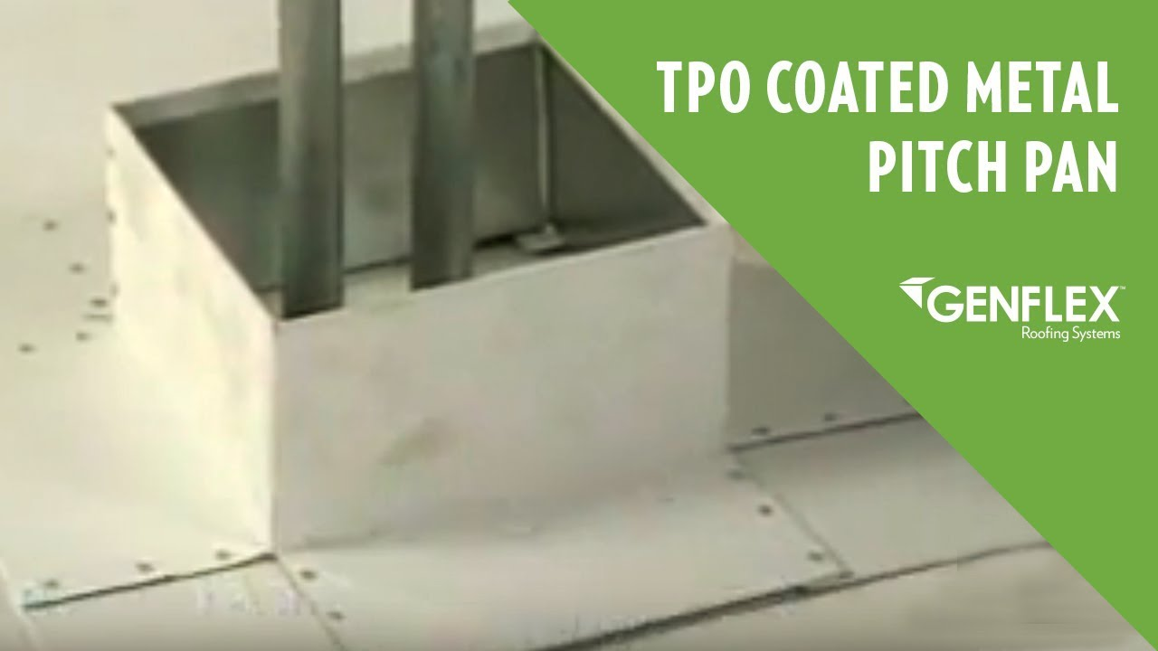 Tpo Coated Metal Pitch Pan Youtube