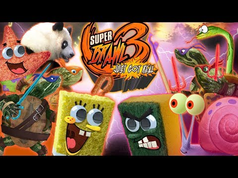 Super Brawl 3: Just Got Real - Spongebob Games