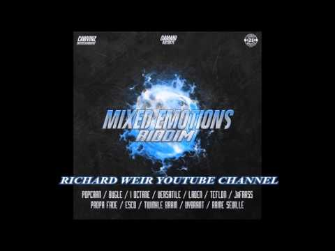 MIXED EMOTIONS RIDDIM (Mix-Mar 2017 ) CAWVINZ ENT _ DAMANI RECORDS