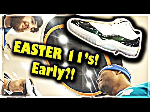 "GETTING JORDAN ""EASTER"" 11's EARLY!? & NEW MACBOOK PRO 