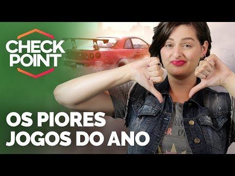 JOGO DE CORRIDA, JRPG E PERSONAGEM CLÁSSICO NAS PIORES NOTAS DE 2017 - Checkpoint