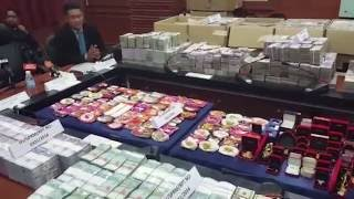 MACC's biggest cash seizure following arrests of two senior officials