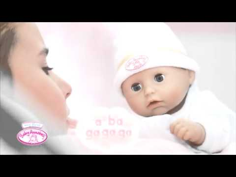 Baby Annabell Bedtijd - YouTube