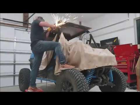 Can-Am Maverick sport XRC, chop chop, cage modification