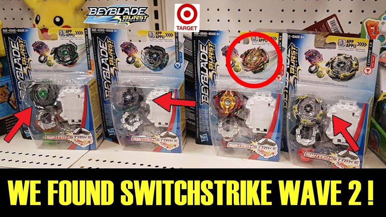 Spryzen S3 Found Them Plus All Wave 2 Switchstrike Beyblade