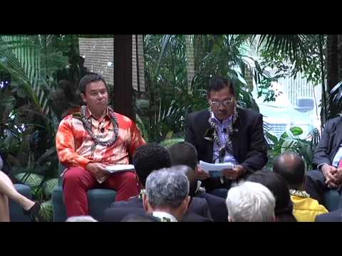 Pacific Day 2013 Part 2: Panel
