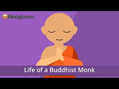 Life of a Buddhist Monk (Religion) - Binogi.com