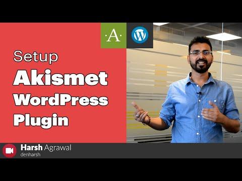 How To Setup Akismet WordPress Plugin (Complete Tutorial for Beginners) - 동영상